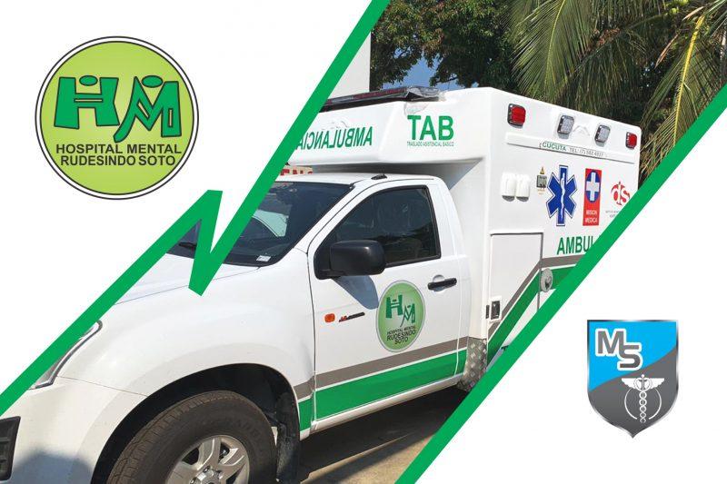 Entrega Ambulancia Mediclinicos Suministros